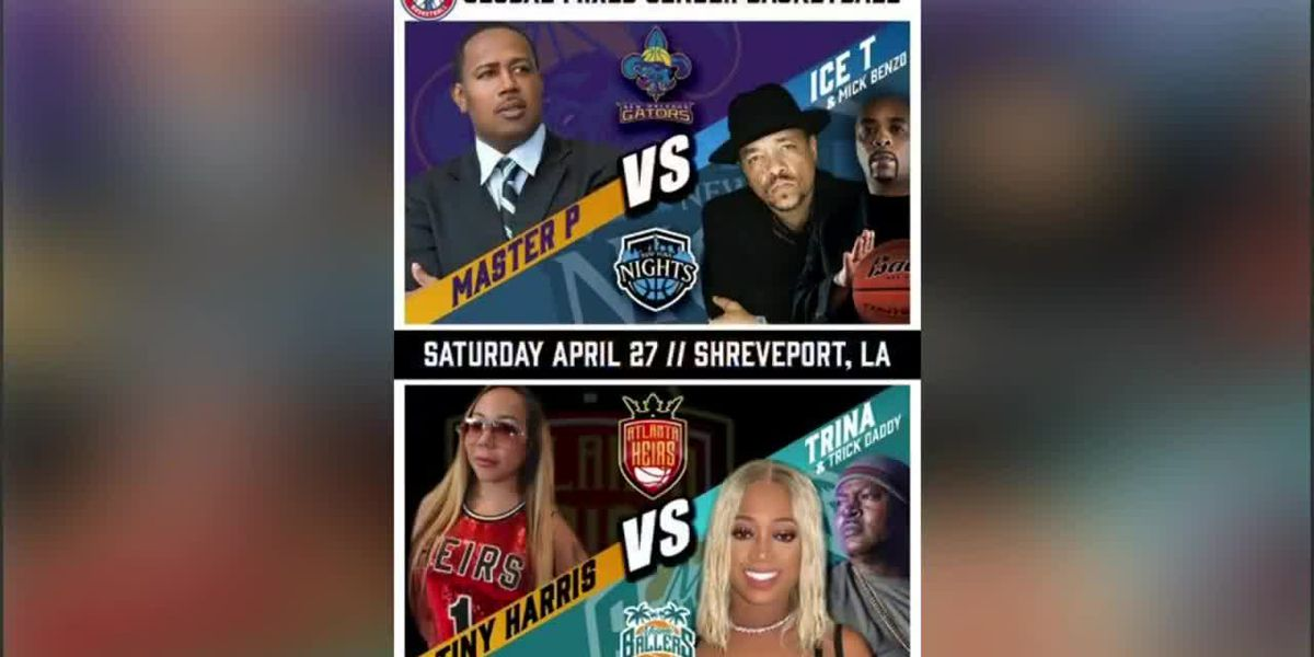 Master P, other celebrities bring Global Mixed Gender Basketball to Shreveport