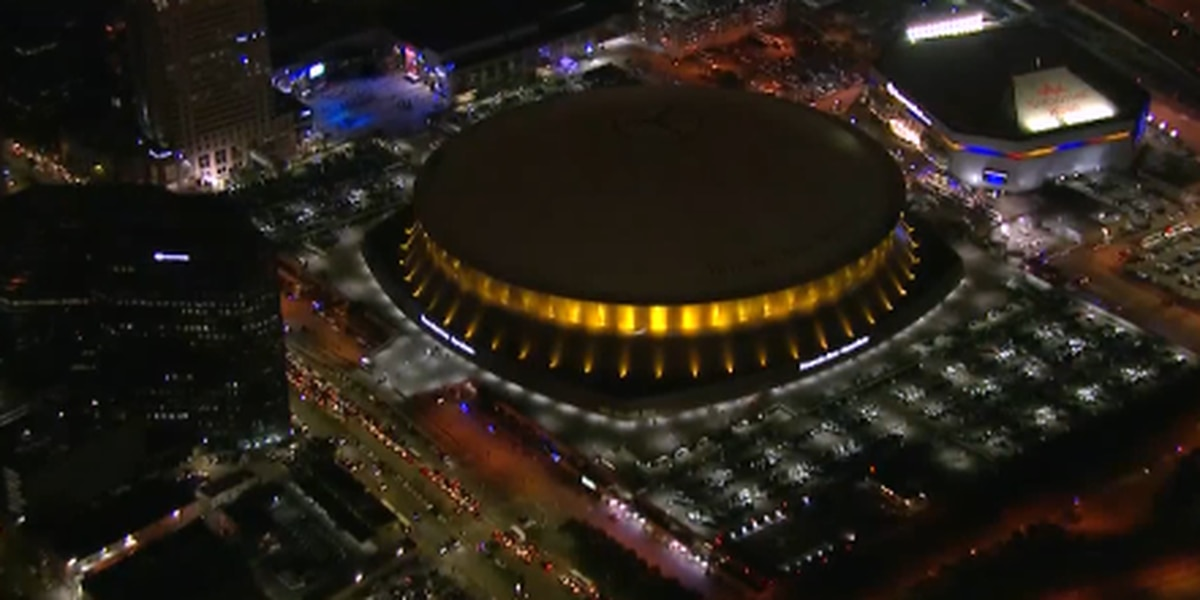 Following the Sugar Bowl, the Superdome prepares for two more high-profile games