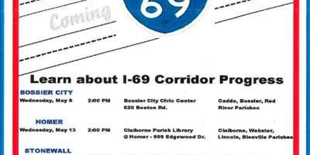 Happening today: Interstate 69 project public forum