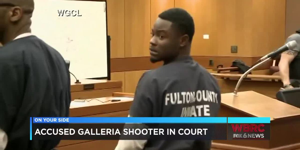 Accused Galleria mall shooter in court