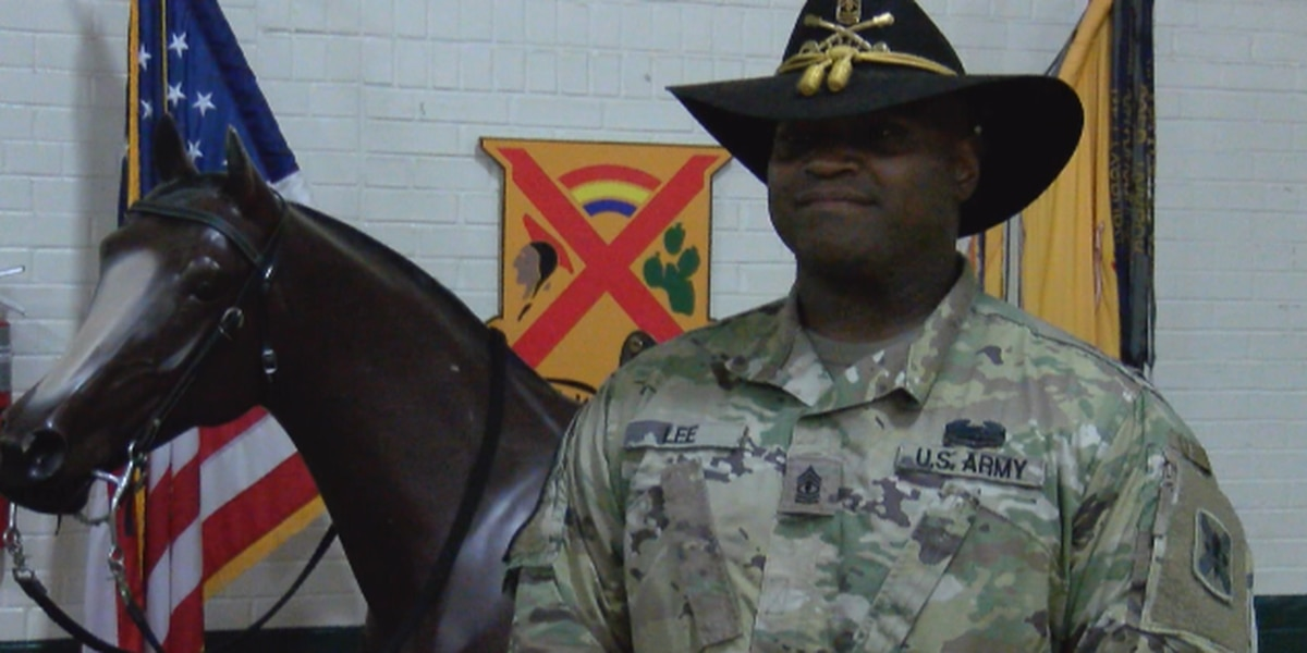 KSLA Salutes: Troop First Sergeant Brandon Lee