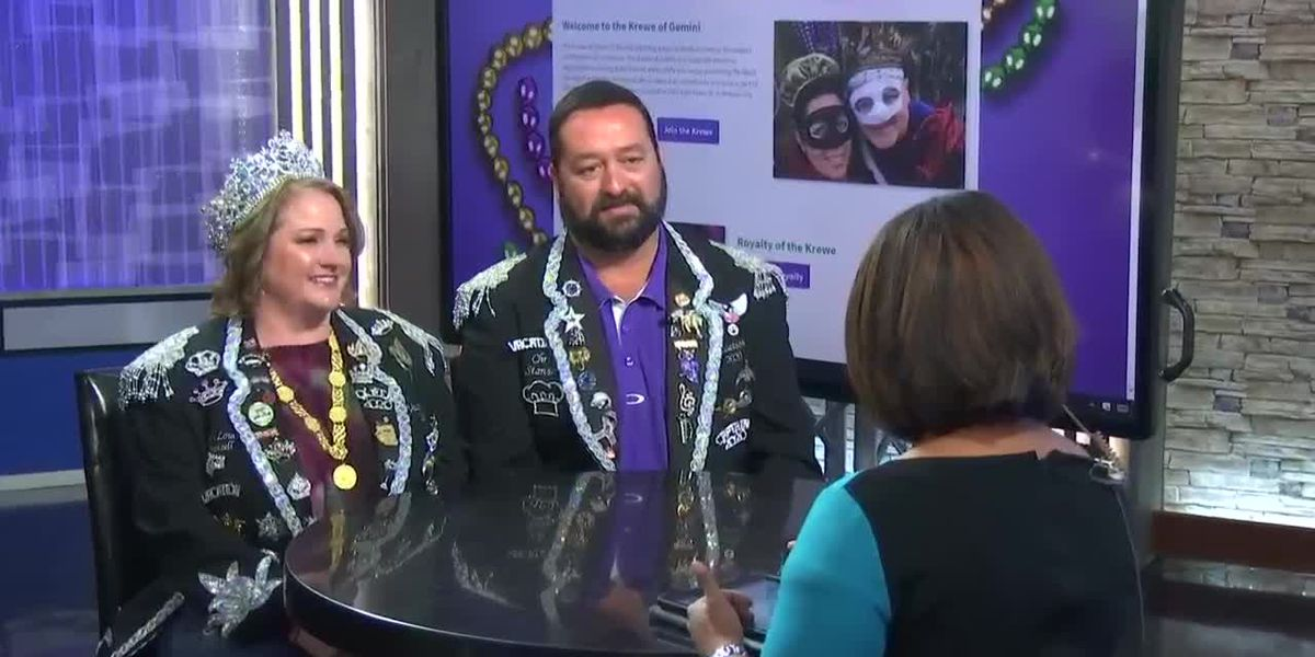 Krewe of Gemini gets ready for Grand Bal, parade