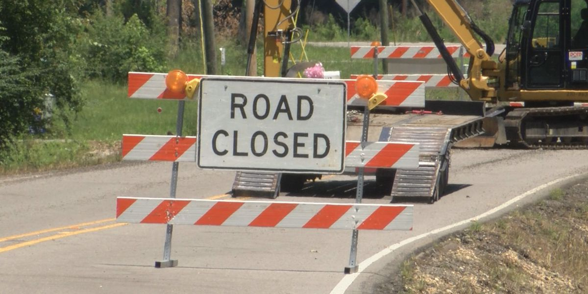 Road closures expected in Bossier Parish, Drivers asked to plan alternate routes