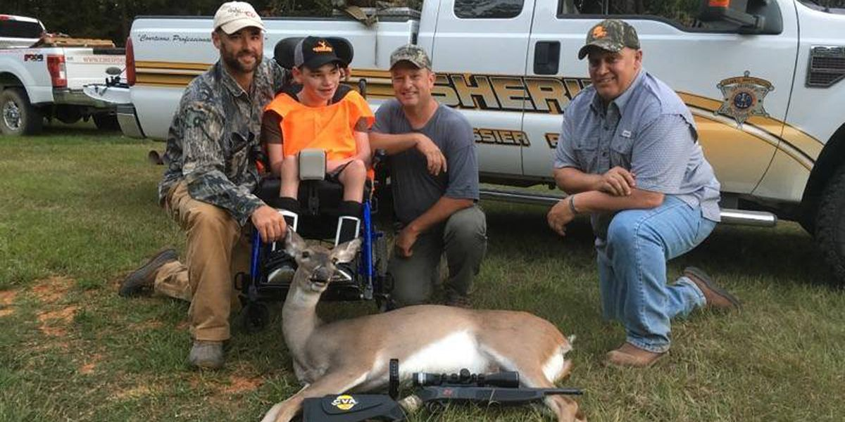 BPSO takes teen with cerebral palsy out on hunting excursion