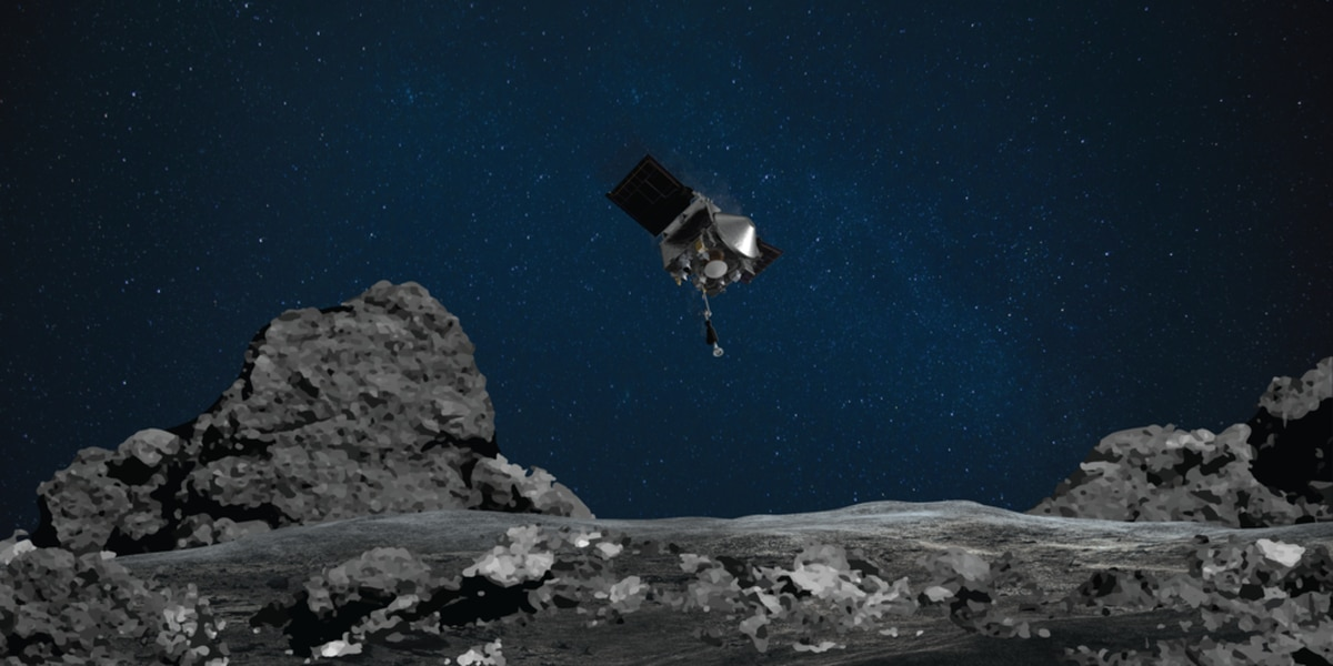 NASA's OSIRIS-REx to land on Bennu asteroid and collect sample, Tuesday