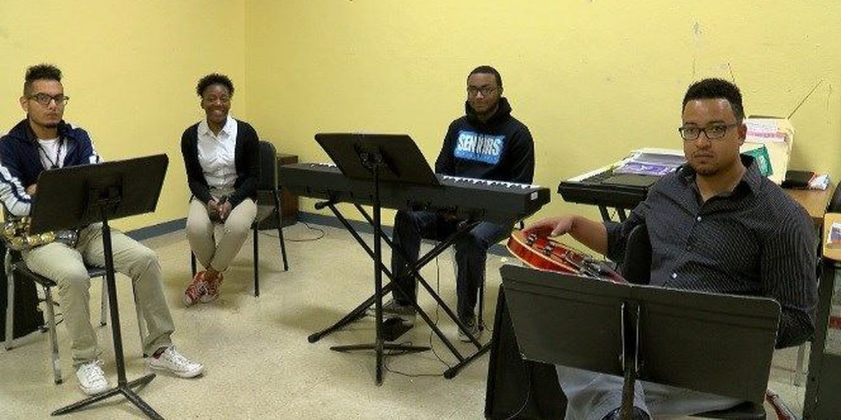Bossier High School's jazz band asked to play at Apollo Theater