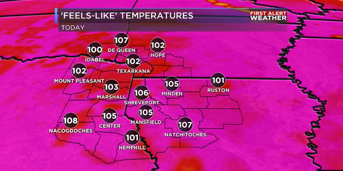 FIRST ALERT: Heatwave continues through the weekend