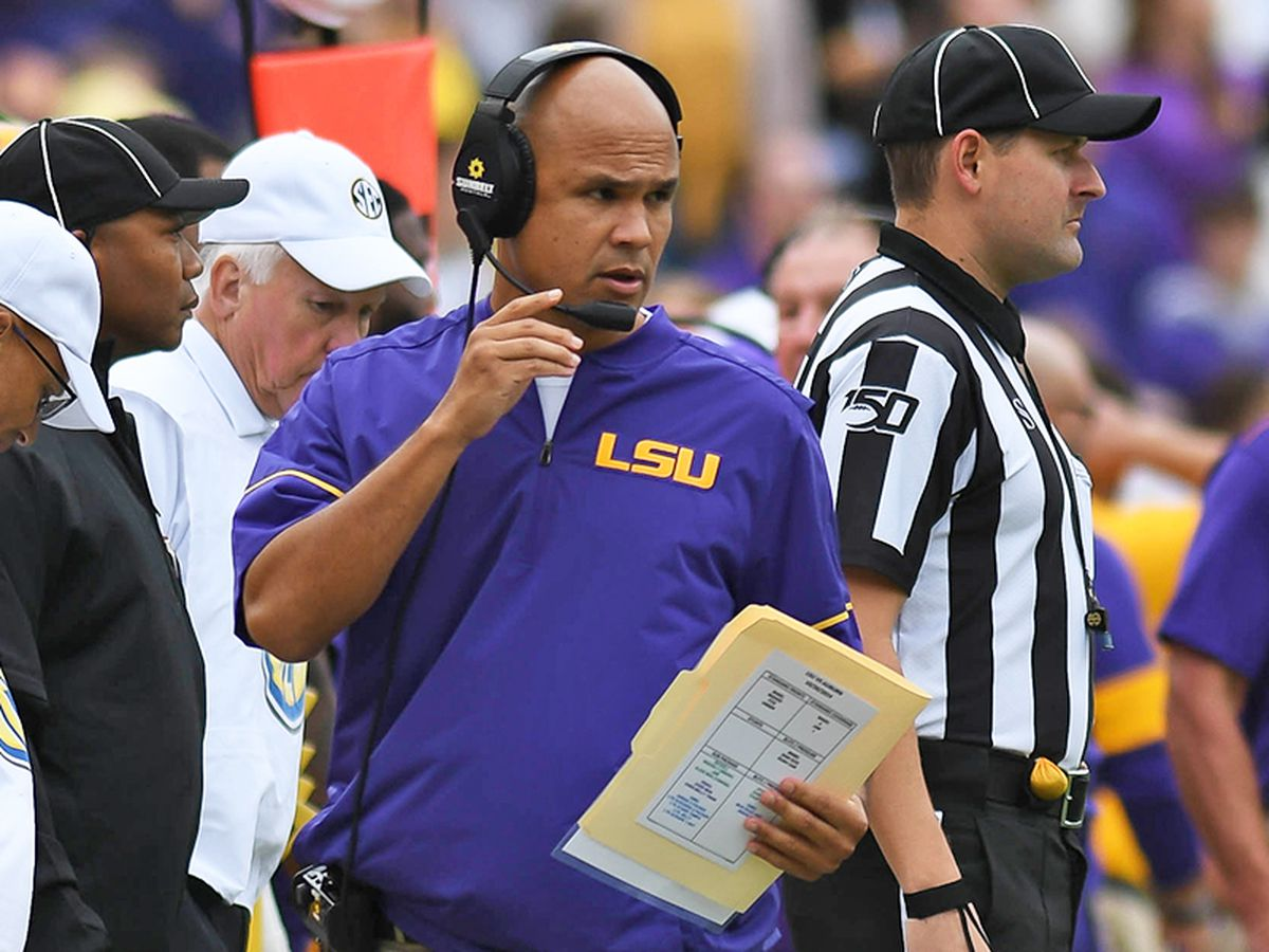 LSU defensive coordinator Dave Aranda officially named new Baylor head coach