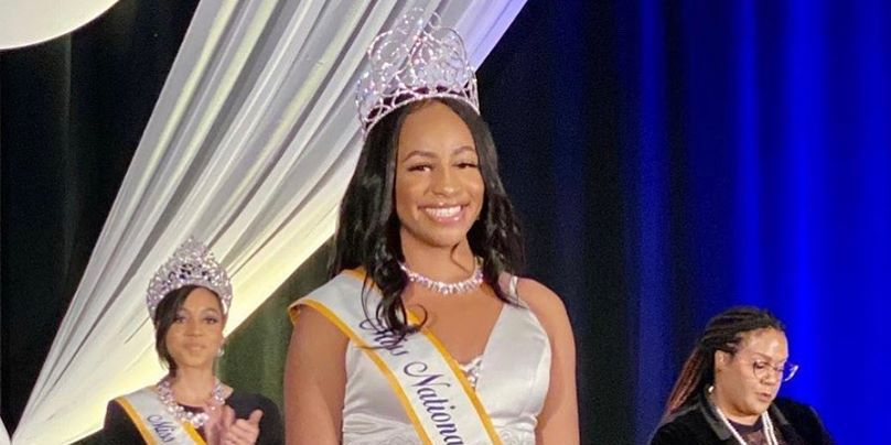 East Texas college coed crowned Miss National UNCF