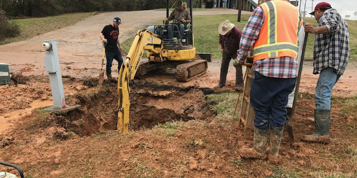 UPDATE: Repairs to ruptured water main completed in Marshall, water returning to customers