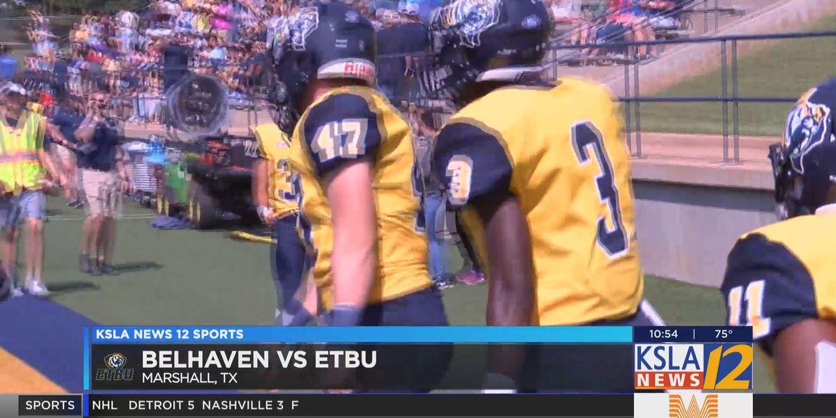 ETBU defeats Belhaven 28-17
