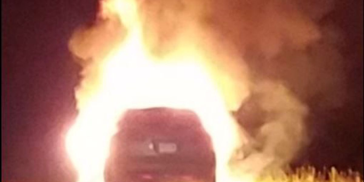 Body found in burned car on I-49 identified