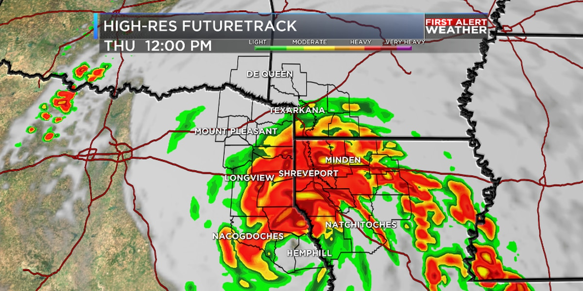 First Alert! Hurricane and Tropical Storm Warnings issued for the ArkLaTex ahead of Laura
