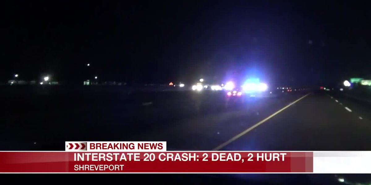 2 dead, 2 injured in I-20 west crash