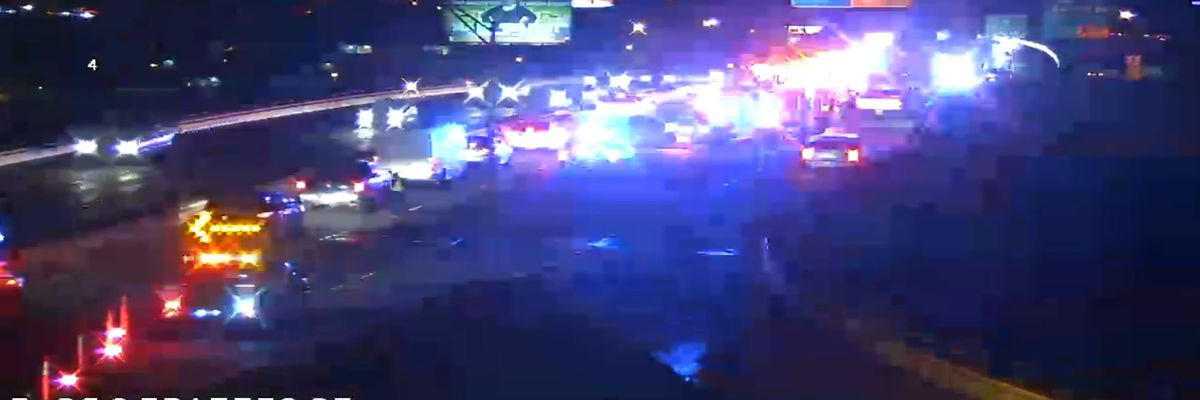 Multi-vehicle wreck on I-20 cleared