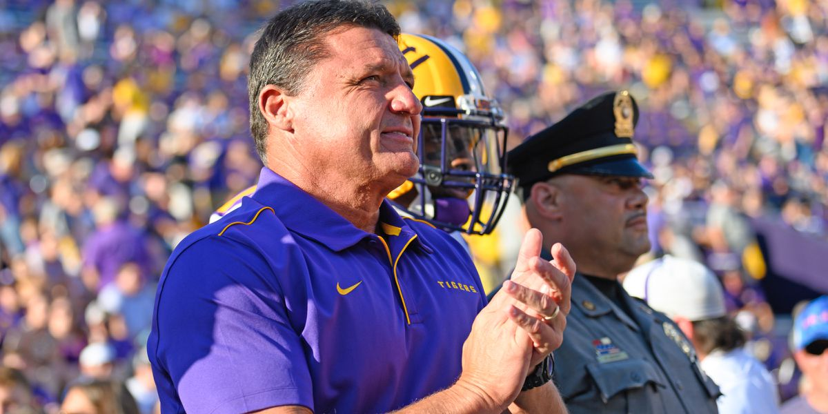 Ed Orgeron named finalist for Munger Award