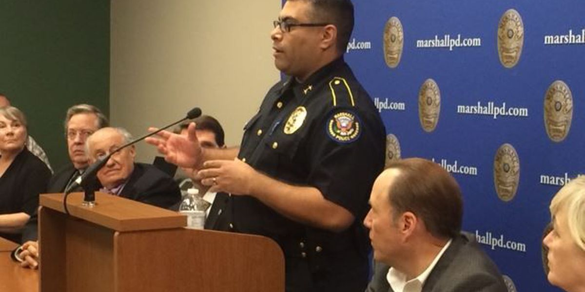 Marshall police chief announces 'No Color, No Labels' campaign