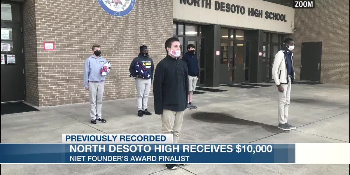 North DeSoto High receives $10,000, honored by NIET