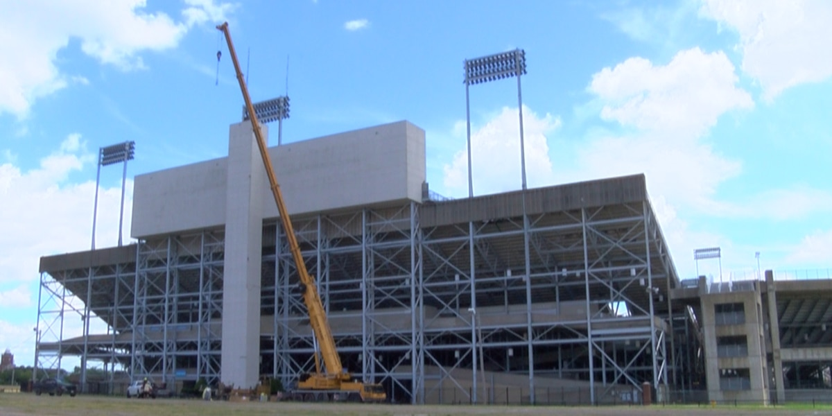 Independence Stadium undergoing $1 million face-lift