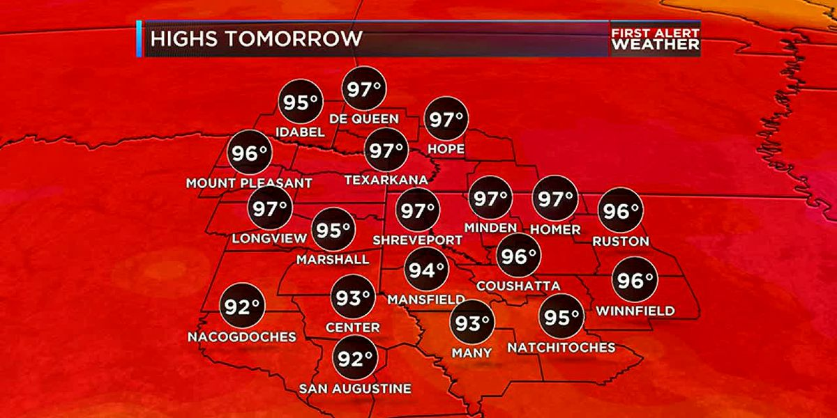 Heat continues with no heat relief