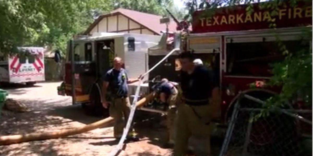 Woman, pet dog die in fire