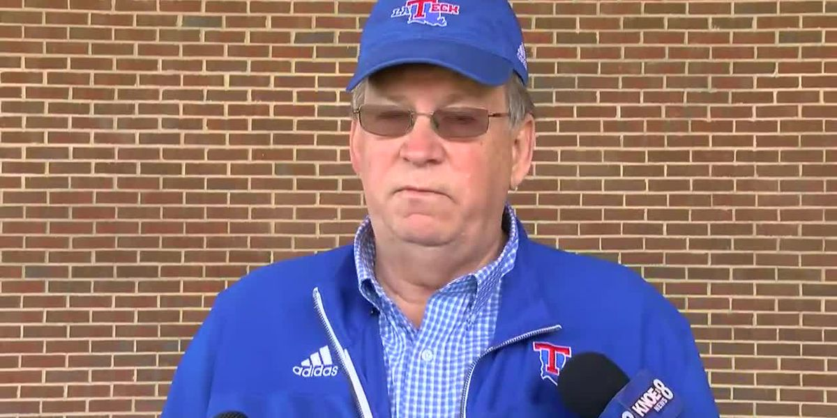LaTech president, athletic director address storm damage