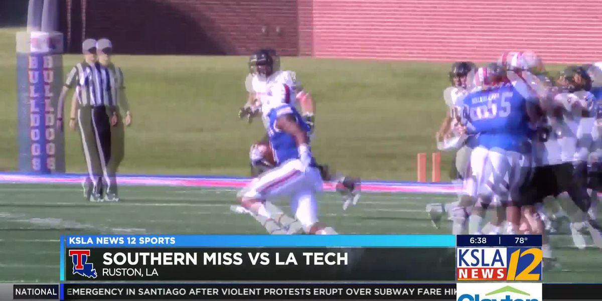 LA Tech defeats Southern Miss 45-30