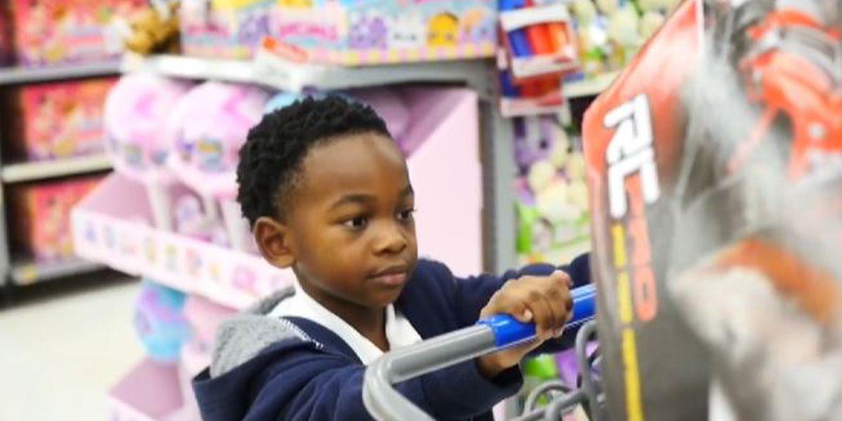 Boy, 6, scores big at Jacqueline Scott & Associates Toy Run
