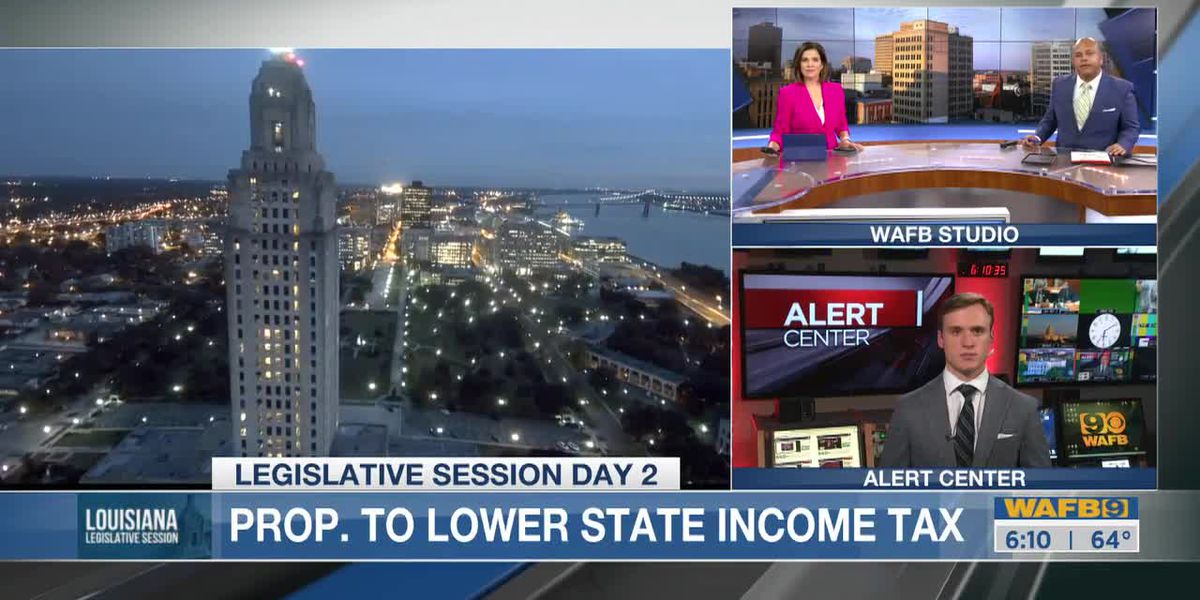 La. lawmakers look to reduce income tax but toss out federal tax deductions