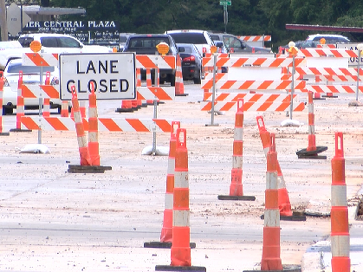 Construction on Shed Road in Bossier City is in its final weeks