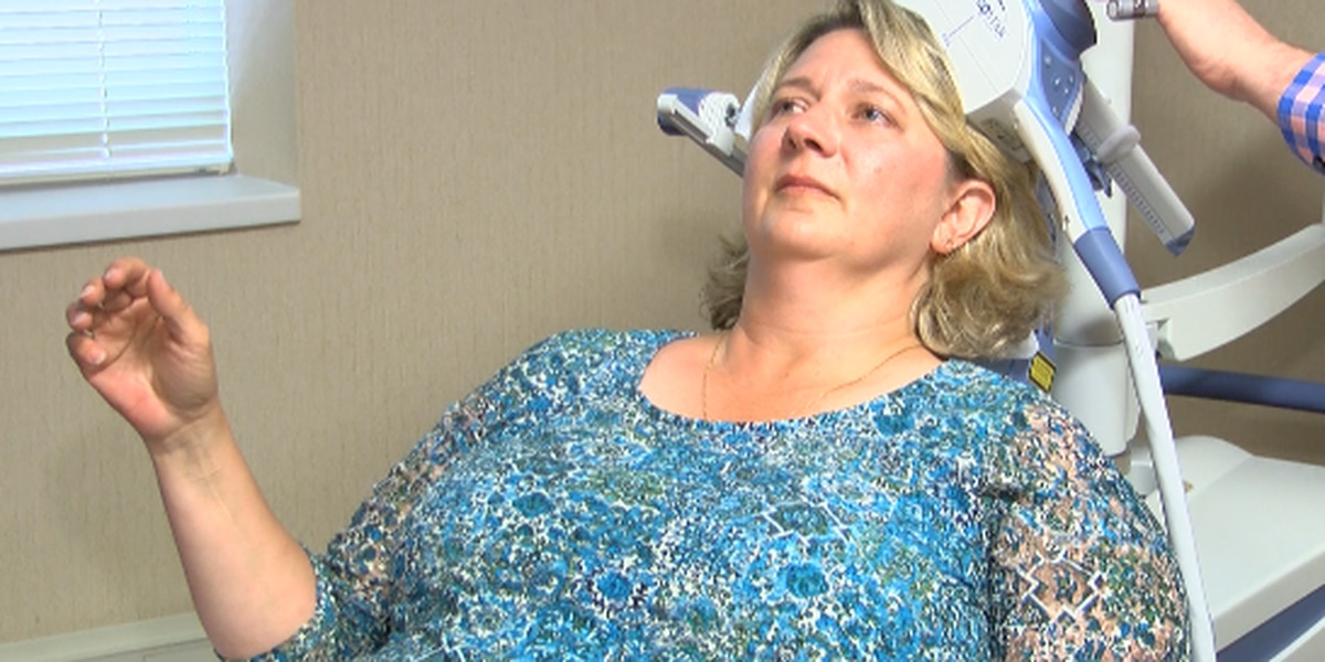 Patients benefiting from new procedure to treat depression
