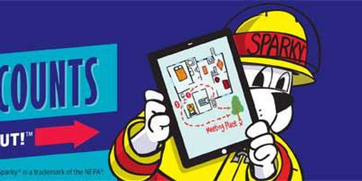 National Fire Prevention week starts Sunday