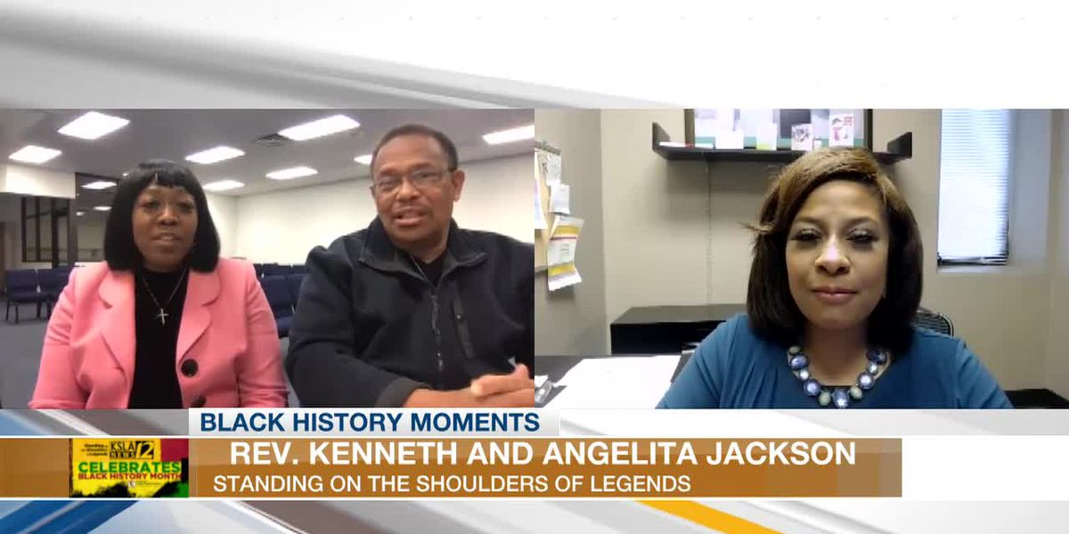 BLACK HISTORY MOMENTS: Kenneth and Angelita Jackson