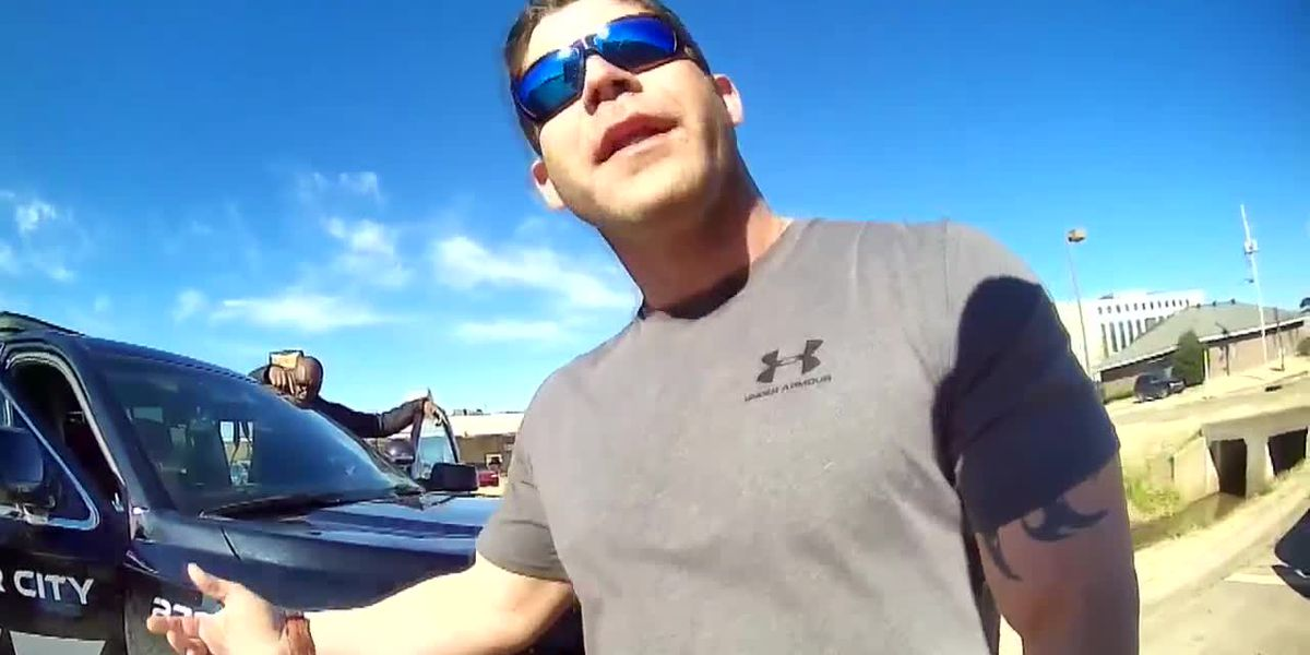 BCPD officer's belligerent behavior caught on camera; traffic stop leads to firing