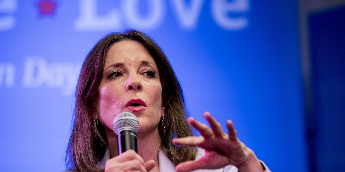 Marianne Williamson drops out of 2020 presidential race
