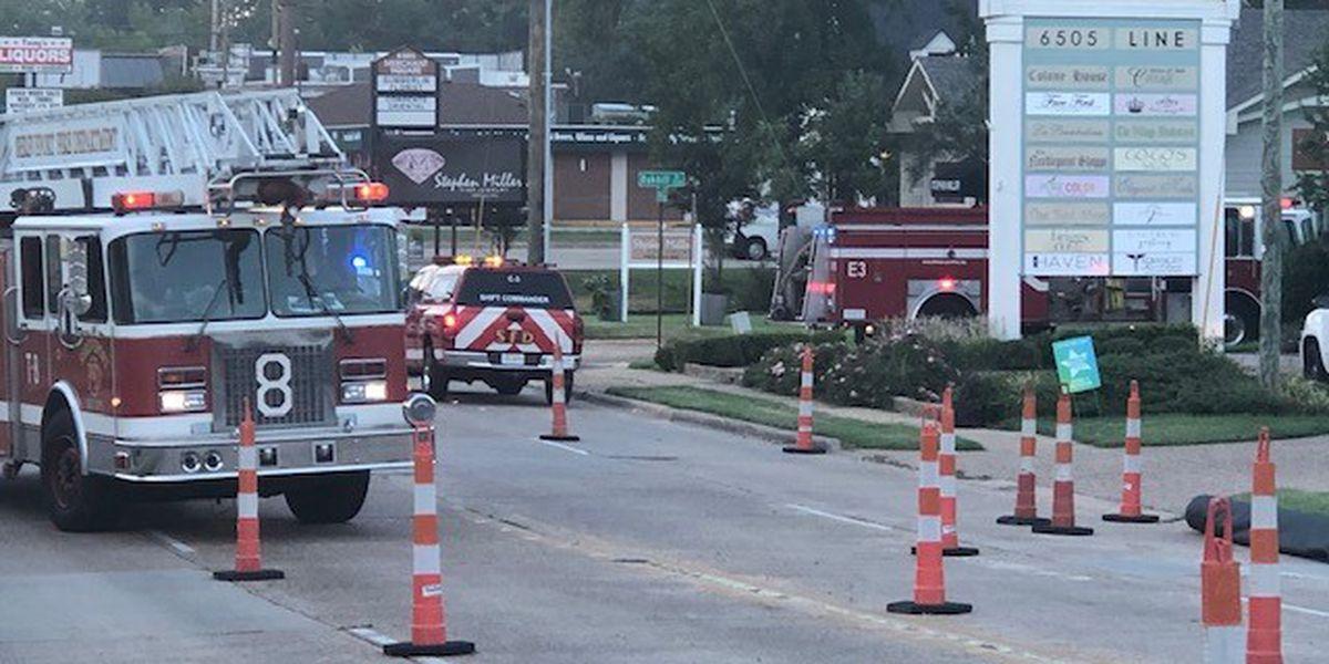 Fire damages art studio, shuts down Line Avenue