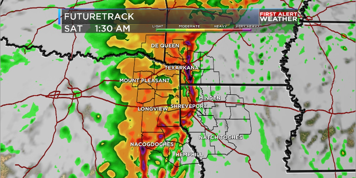 First Alert Weather Day Friday Due to Severe Threat
