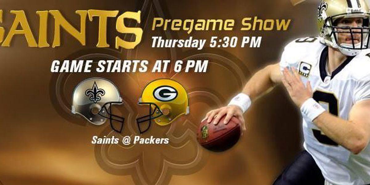 DVR Alert: Saints vs. Packers Thursday at 6