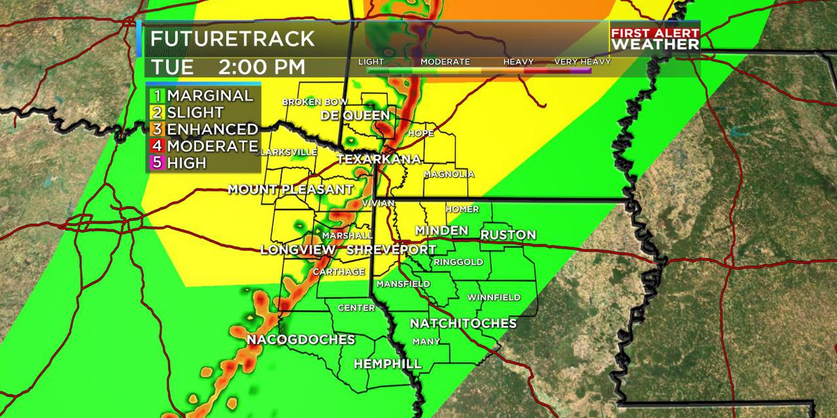 FIRST ALERT: Line of strong storms moves through today