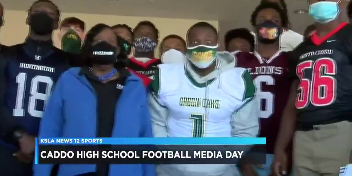 Media Day: Caddo high school football coaches, players excited, concerned
