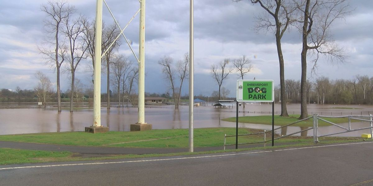 Shreveport again prepares to clean up its flooded parks