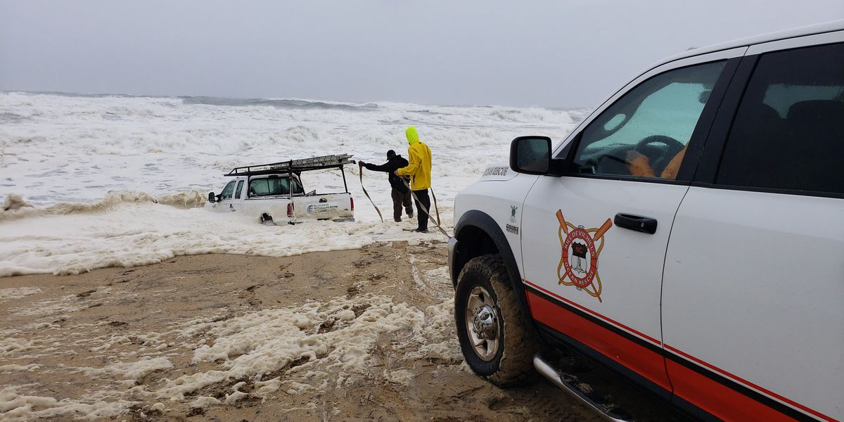 Police: Impaired N.C. man drove pickup truck into ocean as Dorian moved away from coast