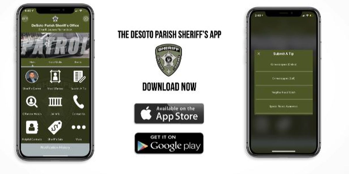 DeSoto Parish Sheriff's Office rolls out new app