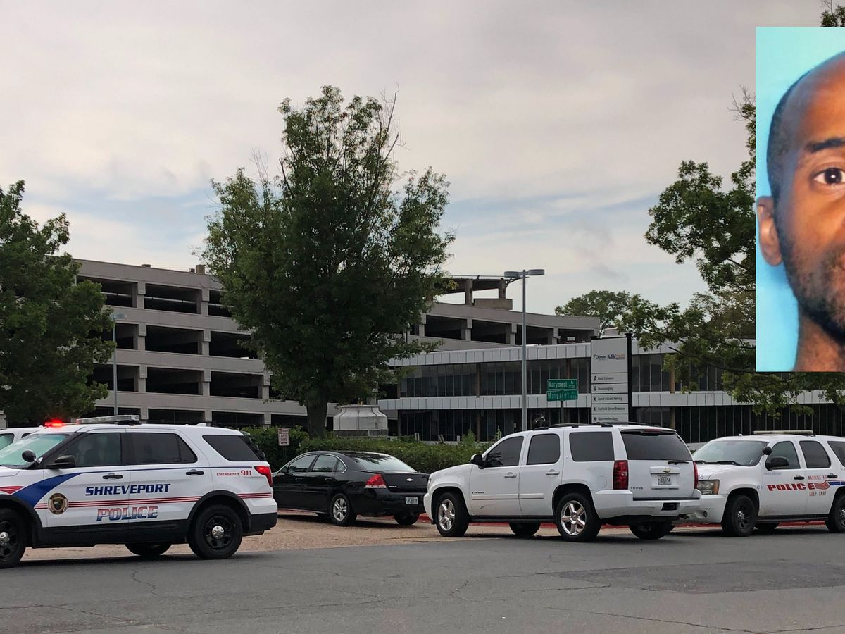 Gunman in custody after opening fire at Shreveport, La. hospital, carjacking woman