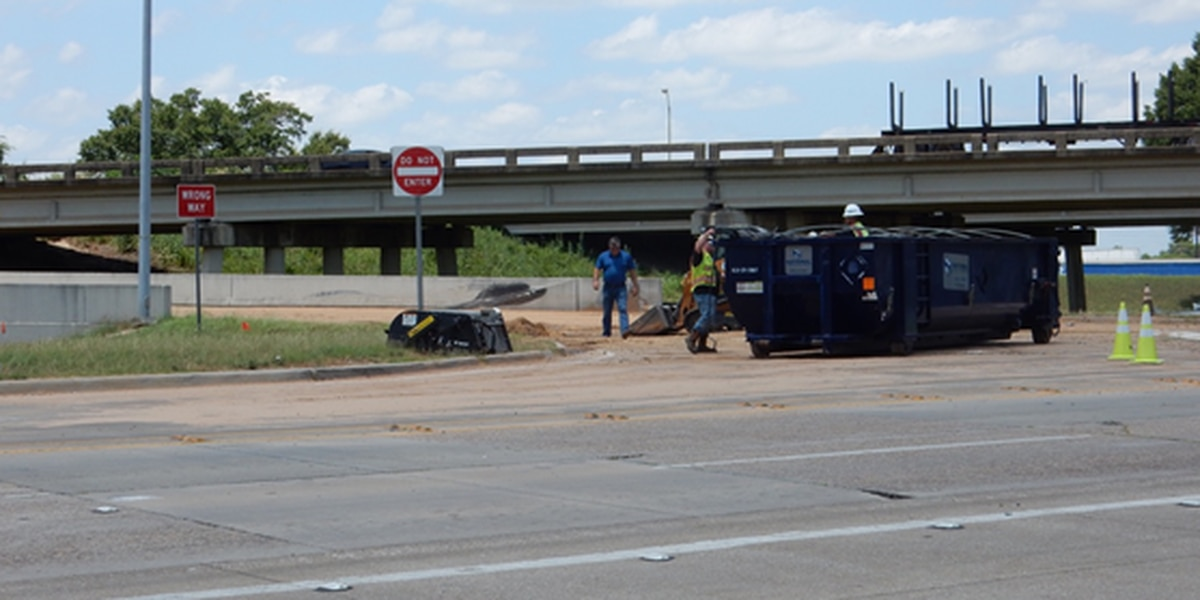 I-20 back open after fluid spill in Bossier City