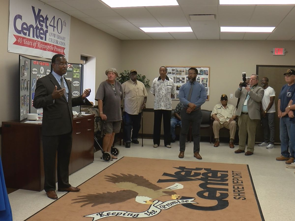 KSLA Salutes: Vet Centers Celebrate 40 years of service