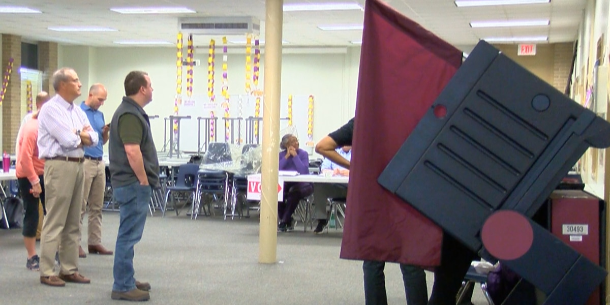 Shreveport voter turnout is expected to exceed statewide figures