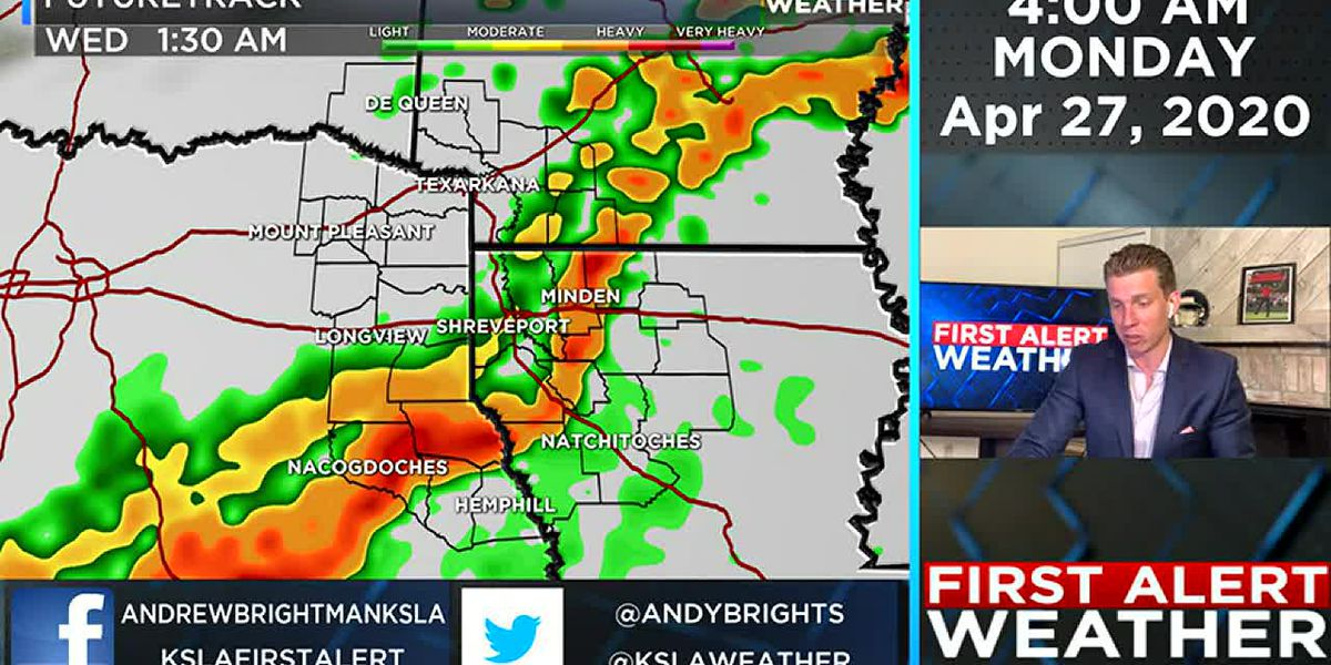 Another round of severe weather possible Tuesday night
