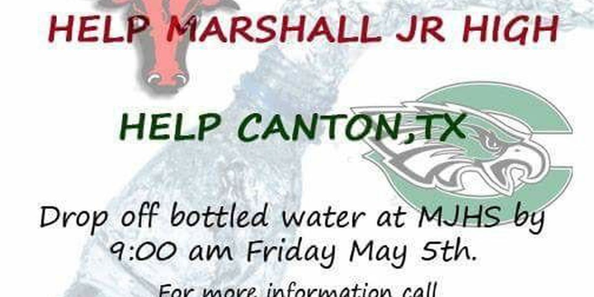 Marshall school accepting gifts to help ETX tornado victims