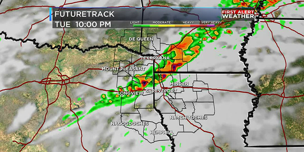Low risk for severe weather Tuesday, but still expecting rain